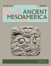 Ancient Mesoamerica Volume 30 - Issue 3 -