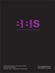 Behavioral and Brain Sciences Volume 32 - Issue 1 -