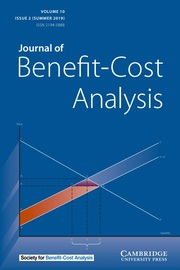 Journal of Benefit-Cost Analysis Volume 10 - Issue 2 -