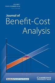 Journal of Benefit-Cost Analysis Volume 7 - Issue 2 -
