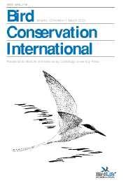 Bird Conservation International Volume 13 - Issue 1 -