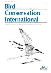 Bird Conservation International Volume 15 - Issue 3 -