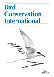 Bird Conservation International Volume 17 - Issue 4 -