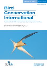 Bird Conservation International Volume 20 - Issue 1 -
