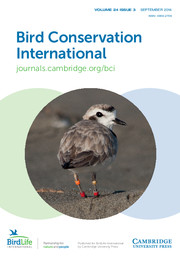 Bird Conservation International Volume 24 - Issue 3 -