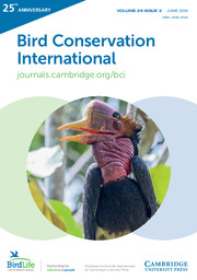 Bird Conservation International Volume 26 - Issue 2 -