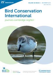 Bird Conservation International Volume 26 - Issue 4 -