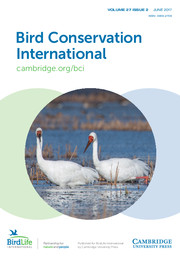Bird Conservation International Volume 27 - Issue 2 -