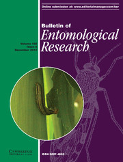 Bulletin of Entomological Research Volume 102 - Issue 6 -