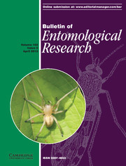 Bulletin of Entomological Research Volume 103 - Issue 2 -