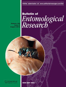 Bulletin of Entomological Research Volume 103 - Issue 4 -