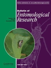Bulletin of Entomological Research Volume 103 - Issue 6 -