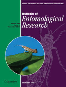 Bulletin of Entomological Research Volume 104 - Issue 6 -