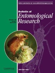 Bulletin of Entomological Research Volume 106 - Issue 2 -