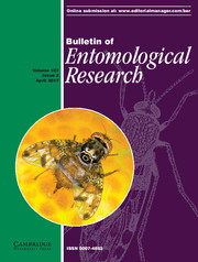 Bulletin of Entomological Research Volume 107 - Issue 2 -