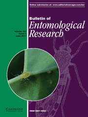 Bulletin of Entomological Research Volume 107 - Issue 3 -