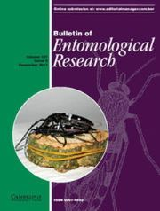 Bulletin of Entomological Research Volume 107 - Issue 6 -