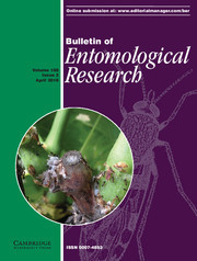 Bulletin of Entomological Research Volume 108 - Issue 2 -