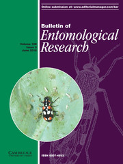 Bulletin of Entomological Research Volume 108 - Issue 3 -