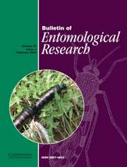 Bulletin of Entomological Research Volume 97 - Issue 1 -