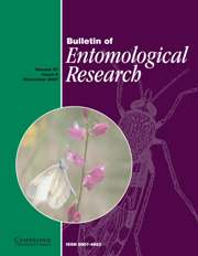 Bulletin of Entomological Research Volume 97 - Issue 6 -
