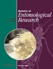 Bulletin of Entomological Research Volume 98 - Issue 1 -