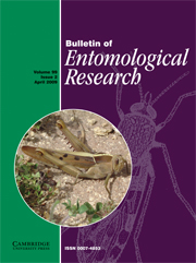 Bulletin of Entomological Research Volume 99 - Issue 2 -