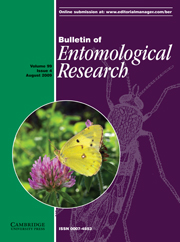 Bulletin of Entomological Research Volume 99 - Issue 4 -