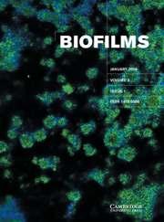 Biofilms Volume 3 - Issue 1 -