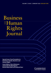 Business and Human Rights Journal