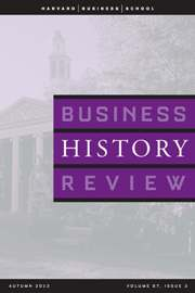Business History Review Volume 87 - Issue 3 -