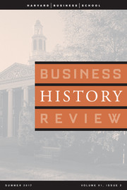 Business History Review Volume 91 - Issue 2 -