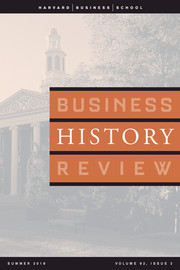 Business History Review Volume 92 - Issue 2 -