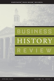 Business History Review Volume 93 - Issue 1 -  Business and the Environment Revisited