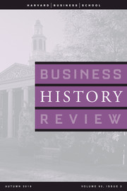 Business History Review Volume 93 - Issue 3 -  Entrepreneurship and Philanthropy