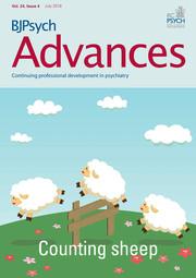 BJPsych Advances Volume 24 - Issue 4 -