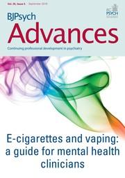 BJPsych Advances Volume 25 - Issue 5 -