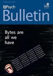BJPsych Bulletin Volume 40 - Issue 5 -