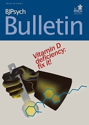 BJPsych Bulletin Volume 41 - Issue 3 -