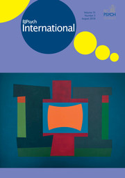 BJPsych International Volume 15 - Issue 3 -