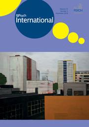 BJPsych International Volume 15 - Issue 4 -