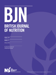 British Journal of Nutrition Volume 107 - Issue 12 -