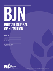 British Journal of Nutrition Volume 107 - Issue 8 -