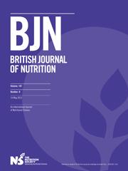 British Journal of Nutrition Volume 107 - Issue 9 -