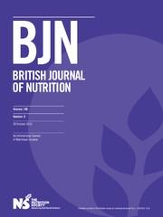 British Journal of Nutrition Volume 108 - Issue 8 -