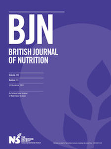 British Journal of Nutrition Volume 112 - Issue 11 -