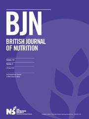 British Journal of Nutrition Volume 112 - Issue 2 -