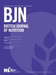 British Journal of Nutrition Volume 112 - Issue 3 -