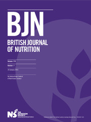 British Journal of Nutrition Volume 115 - Issue 1 -