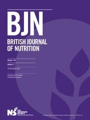 British Journal of Nutrition Volume 116 - Issue 5 -